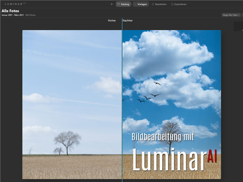 Infoveranstaltung zu Luminar 4 und Luminar AI